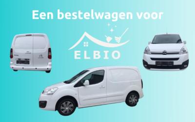 Een bestelwagen voor ELBIO!