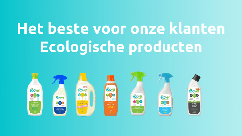 ELBIO cleans with ecological products