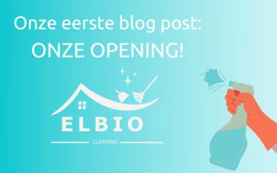 Onze eerste blog post